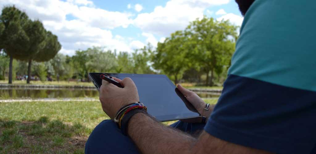 Lenovo MIIX 510 modo tablet