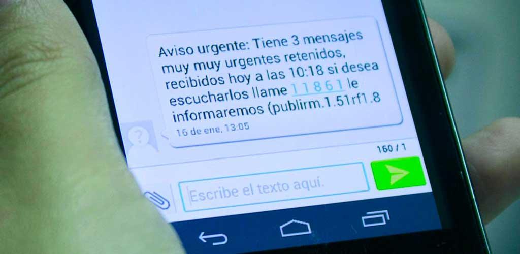 fraude sms