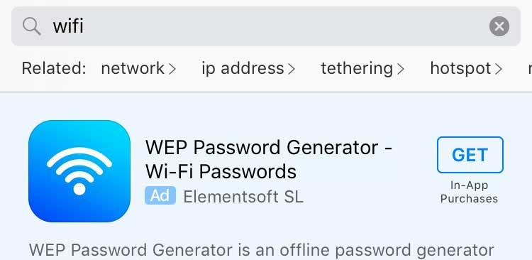 Wifi fail app