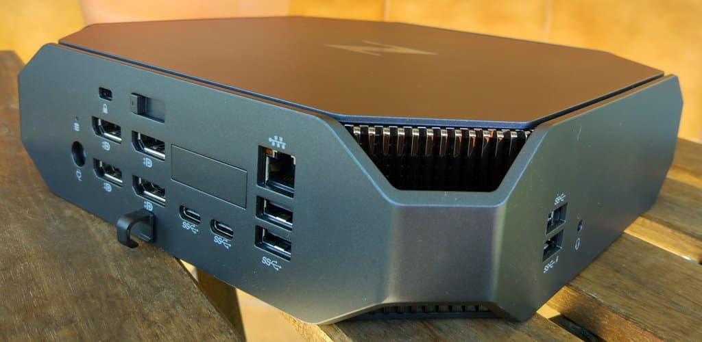 HP Workstation Z2 conexiones