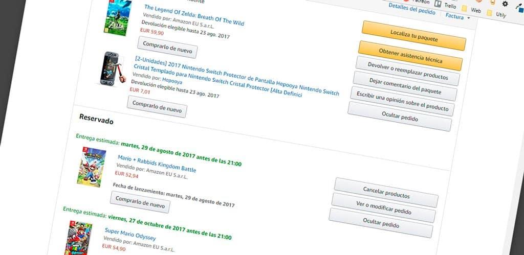 Preventa Amazon Precio