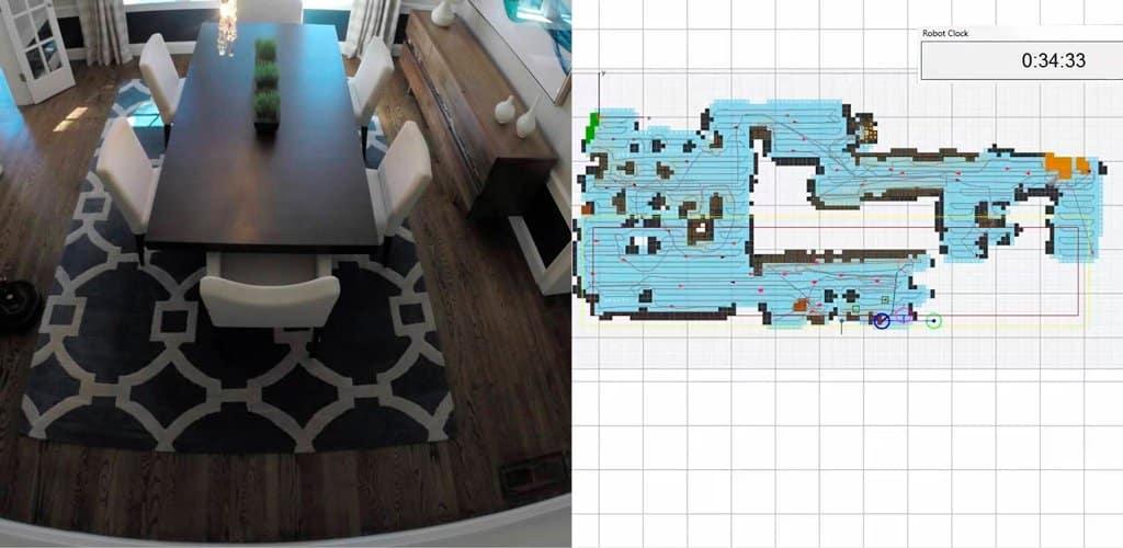 roomba map