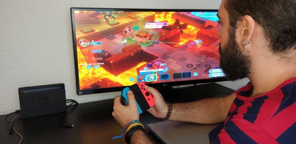 Nintendo Switch escritorio