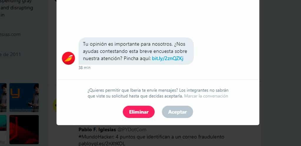 El control de las mecánicas de spam enfocadas a entornos sociales