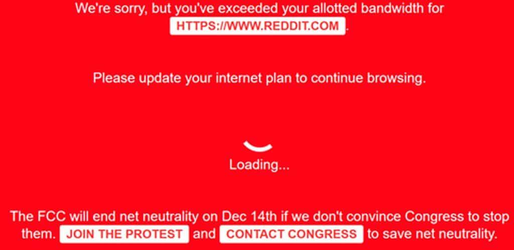 El fin de la neutralidad de la red