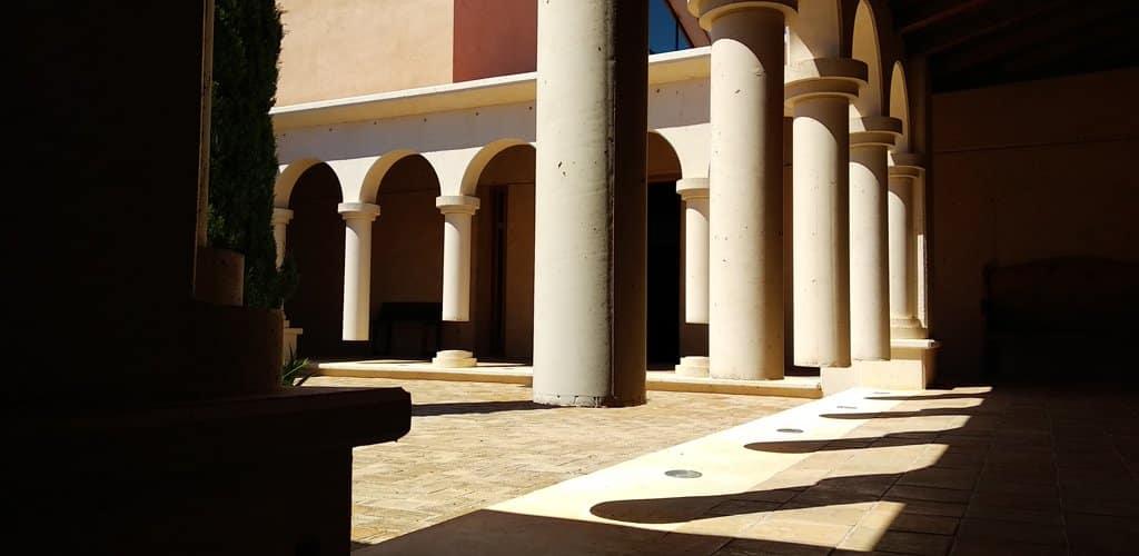 Vinyes de Convent claustro