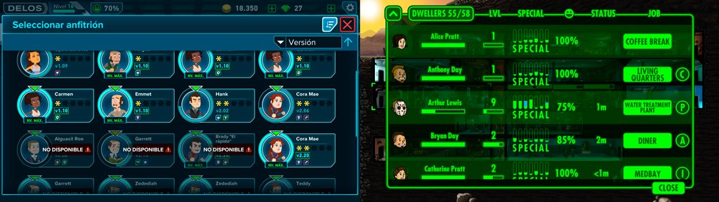 Westworld vs fallout personajes