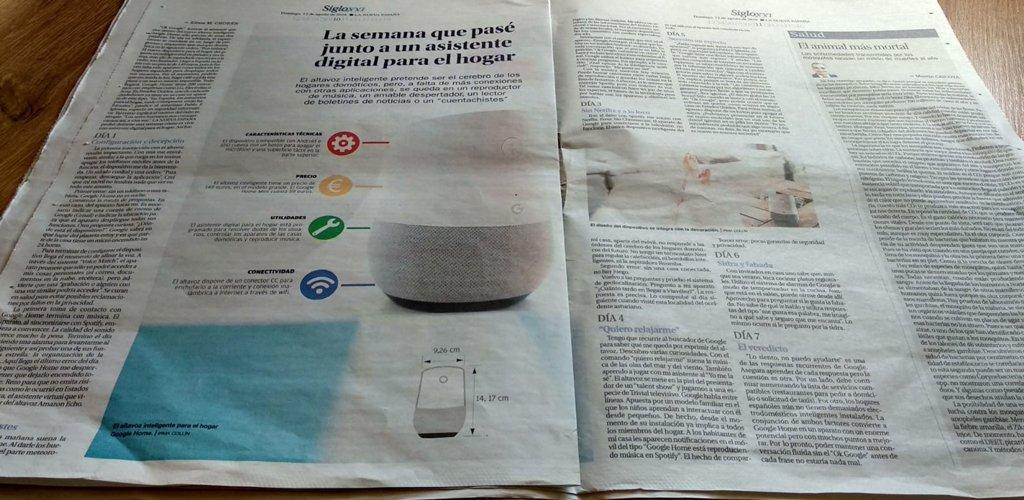 Hablando sobre privacidad y asistentes virtuales en La Nueva España