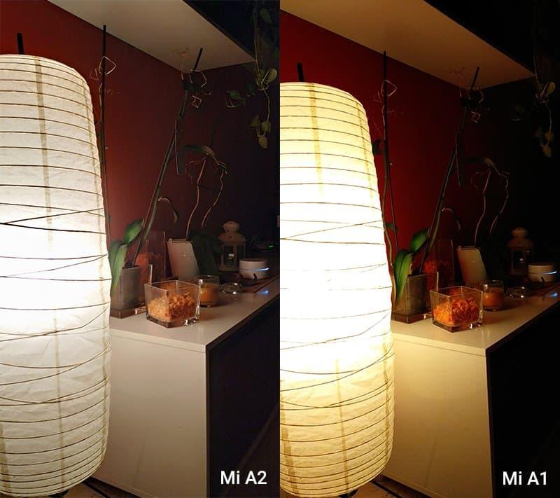xiaomi mi a2 foto contraste