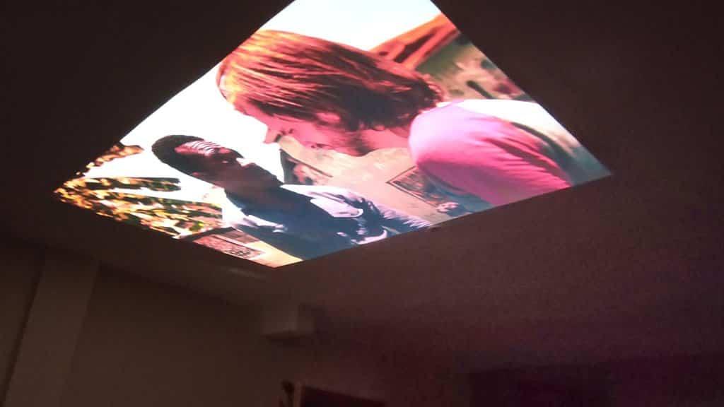 Excelvan projector sin luz