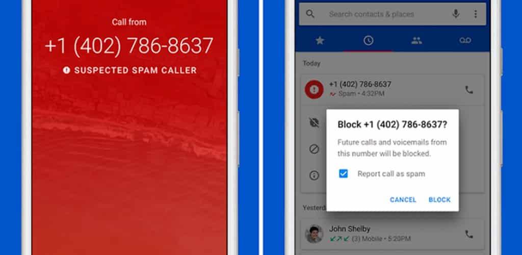 bloquear llamadas maliciosas