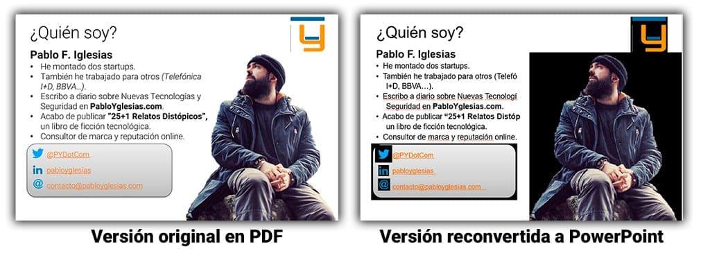 convertir pdf a powerpoint