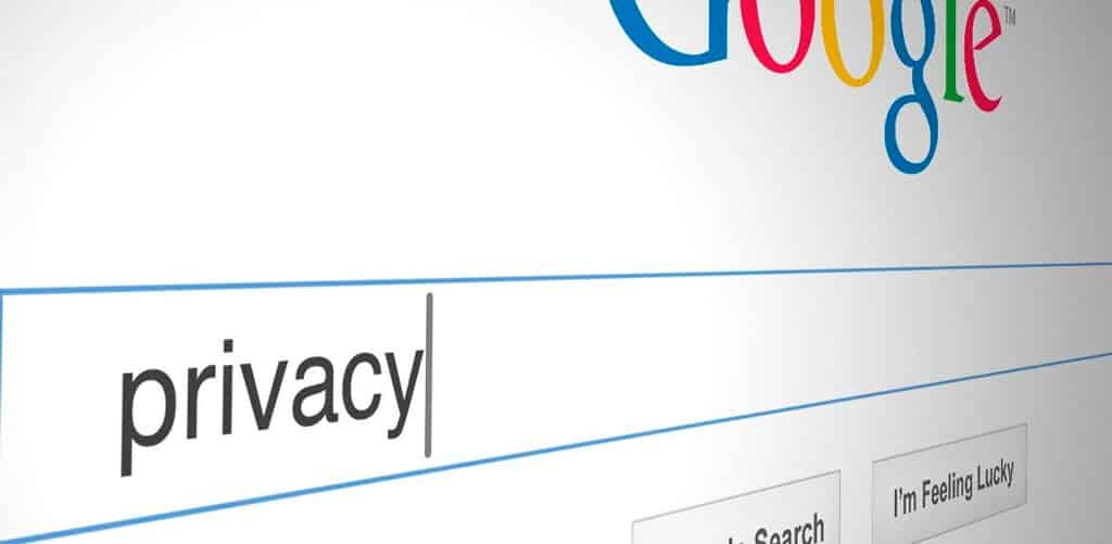 google privacidad