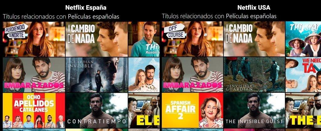 Netflix peliculas espanolas