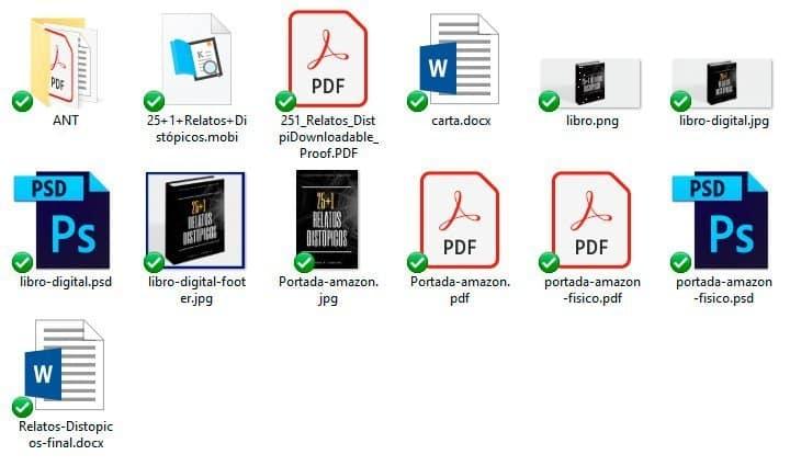 archivos publicacion libro
