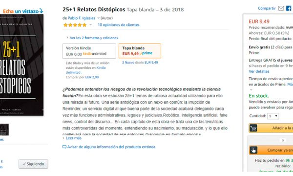 autopublicacion en amazon