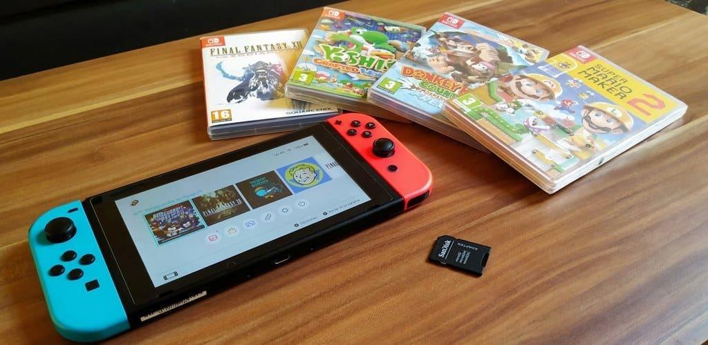 Nintendo Switch velocidad