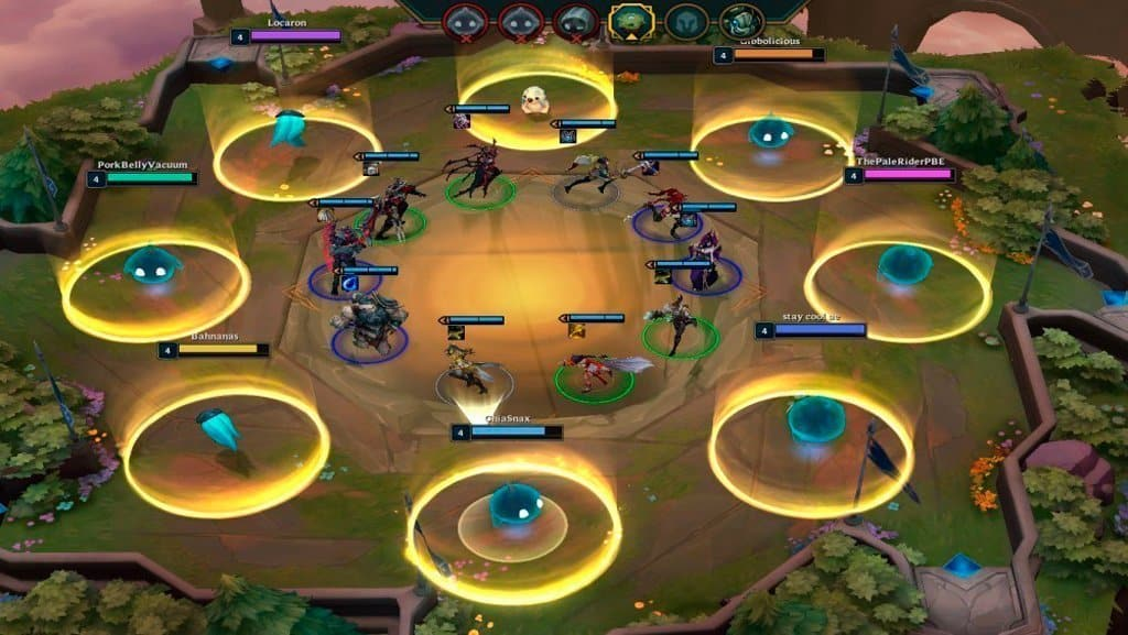 ejemplo teamfight tactics circulo
