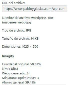 optimizacion imagen webp
