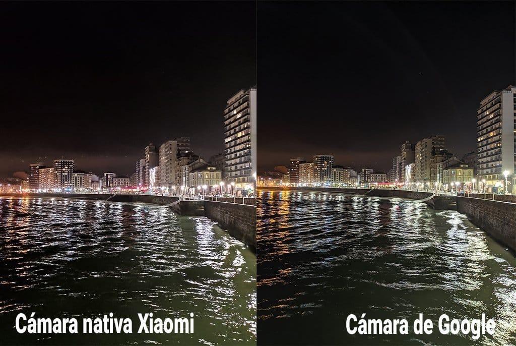 comparativa trasera modonocturno luz