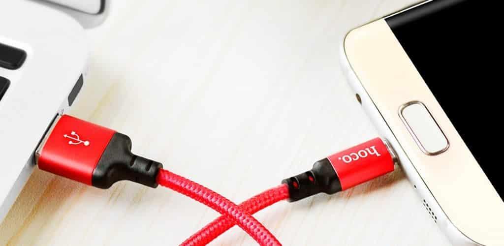 conexion por cable smartphone