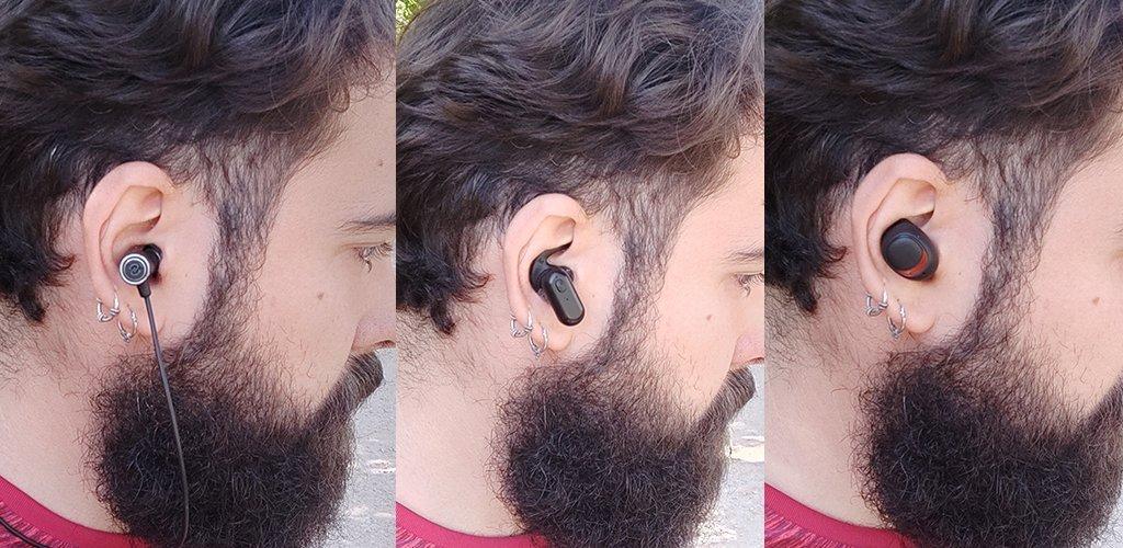 La importancia del factor forma a la hora de elegir unos auriculares