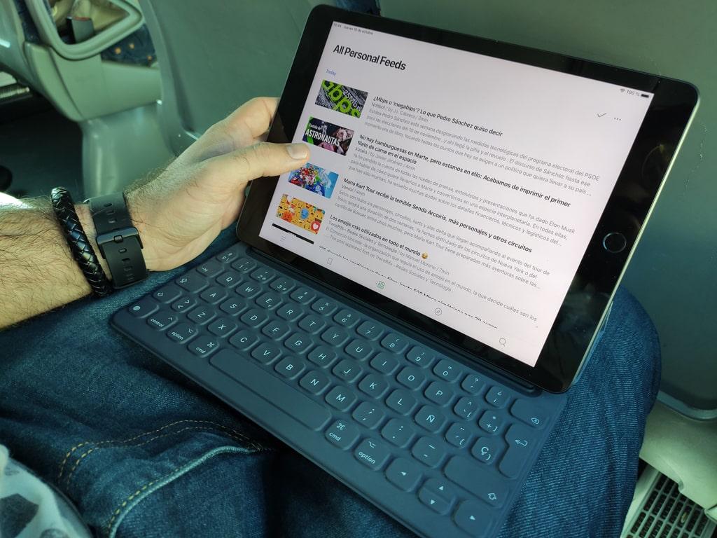 iPad viaje