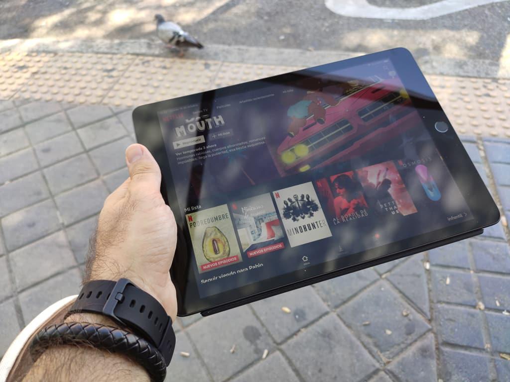 iPad streaming contenido