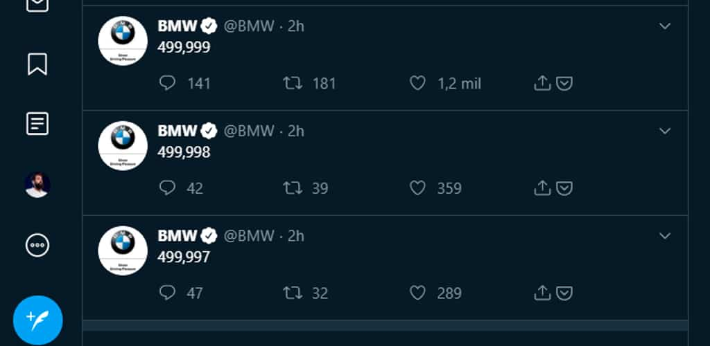 bmw estrategia social