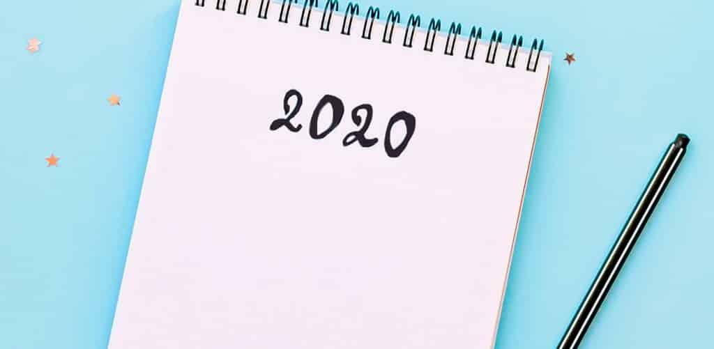 lista objetivos 2020