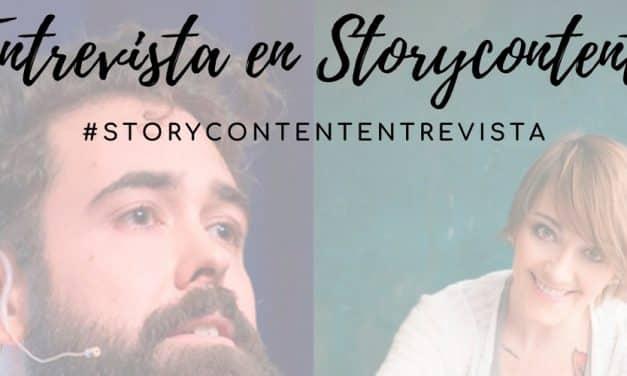 Hablando sobre reputación online para la comunidad de Storycontent