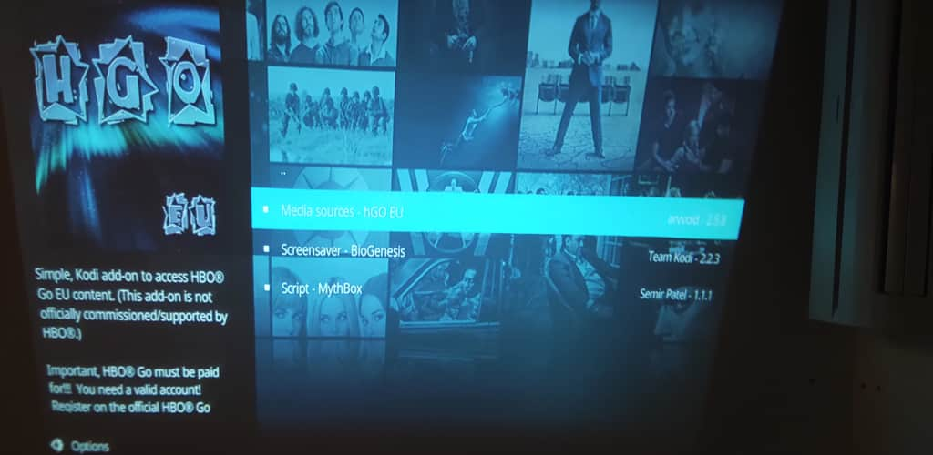 HBO Go Eu Kodi Amazon Fire TV