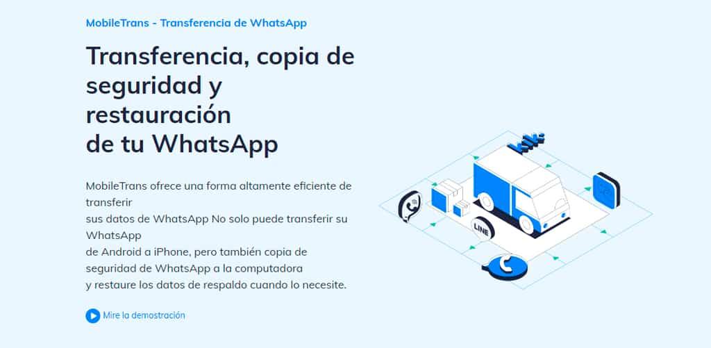 Transferir WhatsApp entre Android iOS