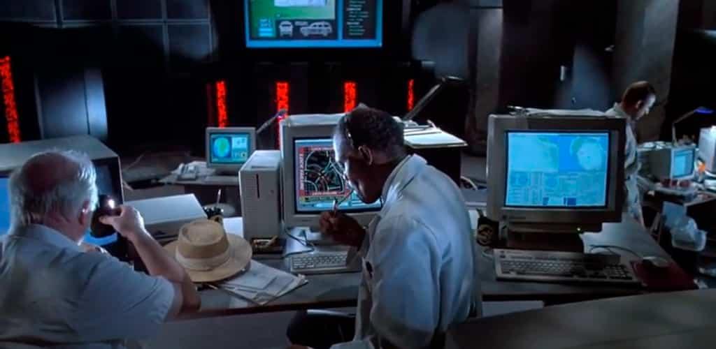 hacking jurassic park