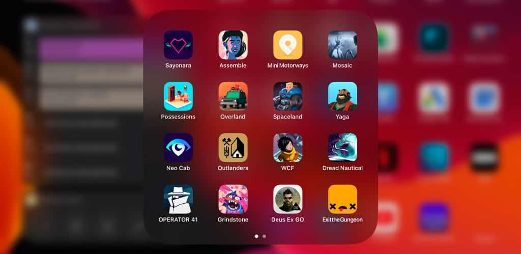 ejemplo juegos apple arcade