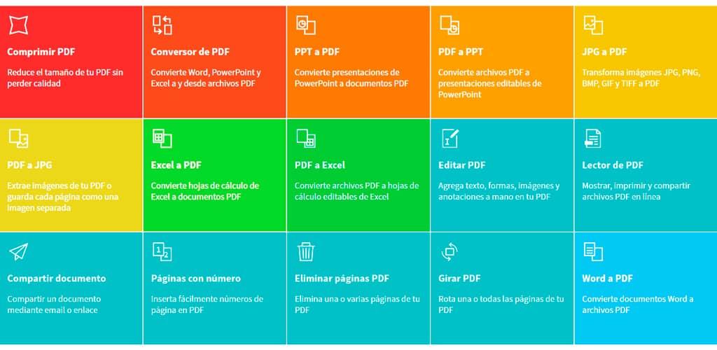 trabajar con pdfs