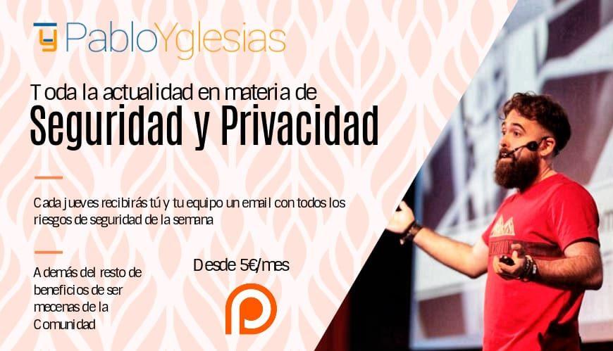 Newsletter mecenazgo PabloYglesias