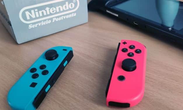 Joy-con Drift: Cómo ha sido la experiencia de enviar mis mandos al servicio de reparaciones de Nintendo