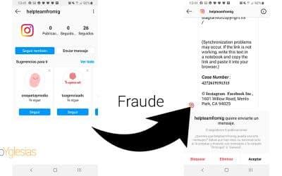 Cómo funcionan las campañas de phishing vía Instagram: Radiografía de una real