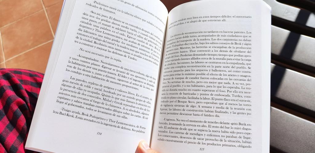 leyendo memorias de arganon I