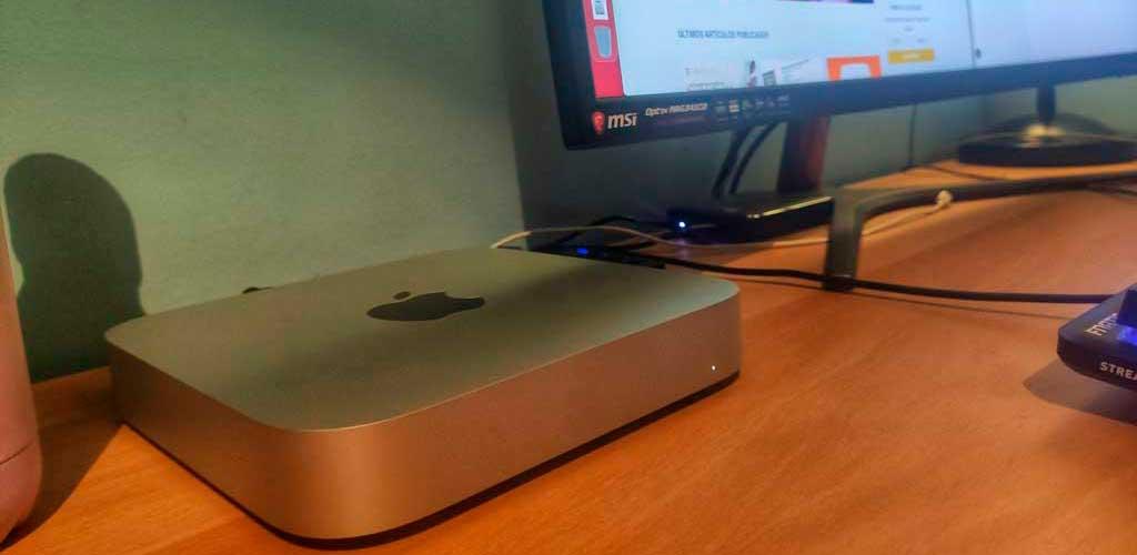 review mac mini escritorio Apple Silicon