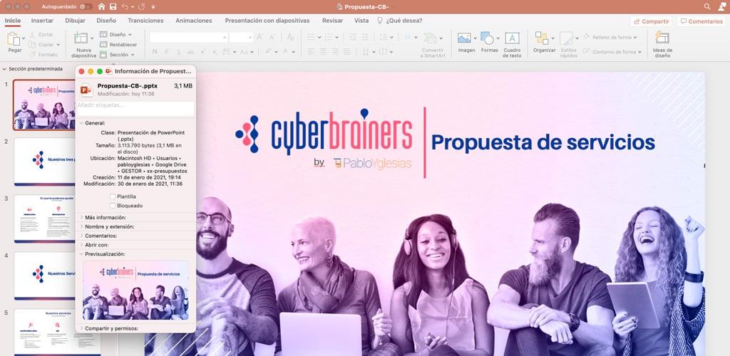 Comprimir pdf powerpoint