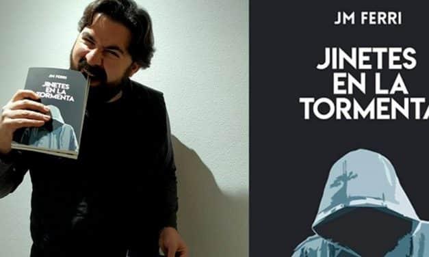 Entrevista a JM Ferri, autor de la novela negra «Jinetes en la Tormenta», sobre autopublicación y el futuro de la literatura