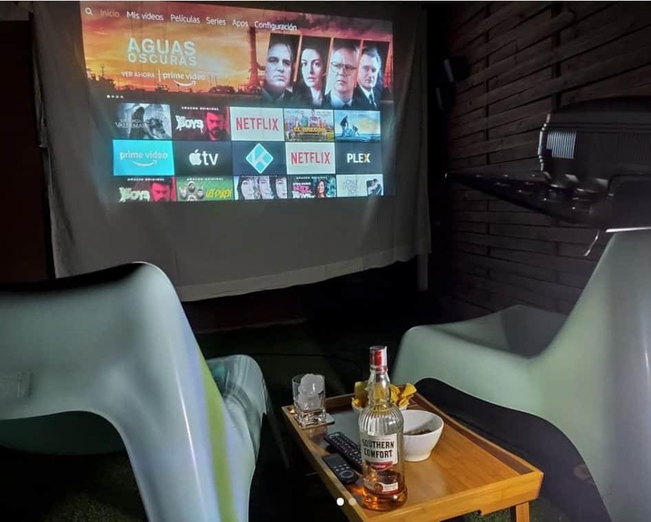 proyector uso sabana exteriores