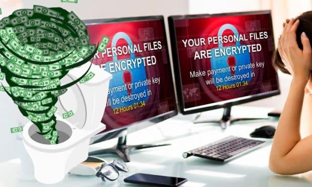 Pagar a cibercriminales para deshacerse de un ransomware: Una mala elección