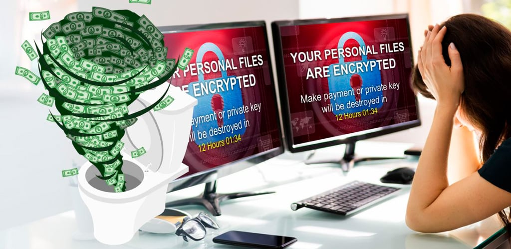 ransomware pago cibercriminales