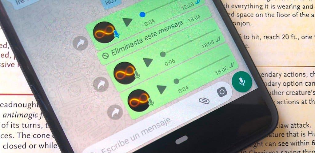 mensajes de voz whatsapp