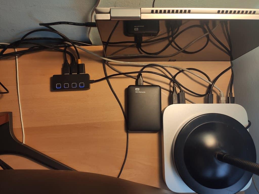 Switch USB despacho