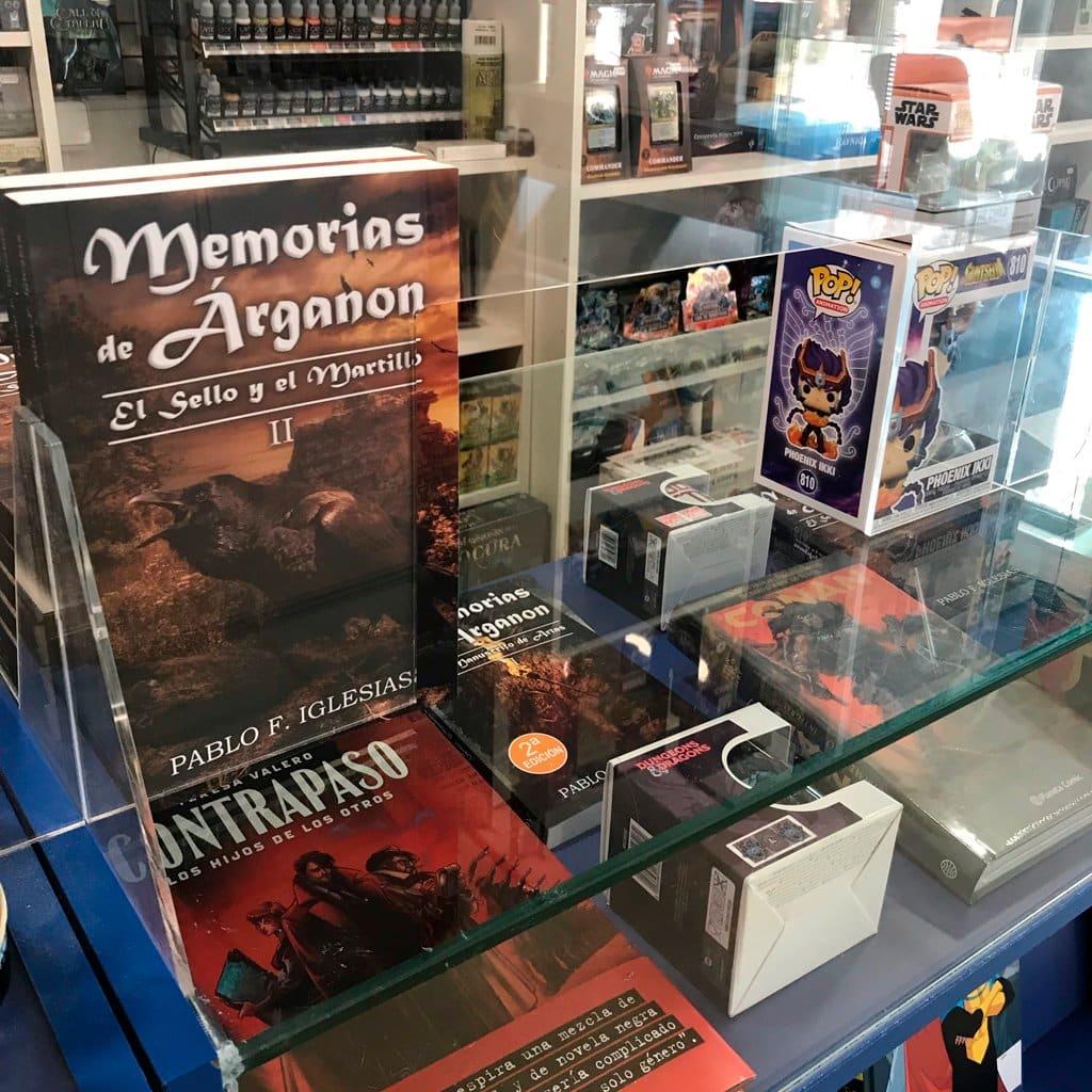 Ventas Memorias Arganon tiendas