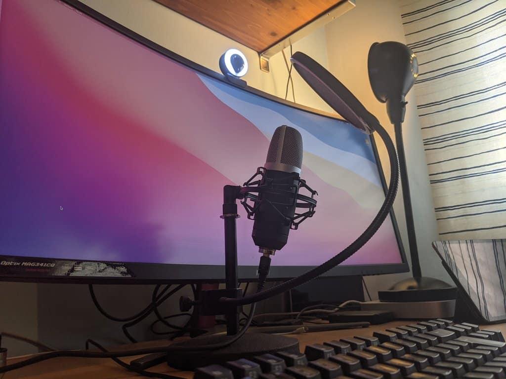 accesorios microfono webcam